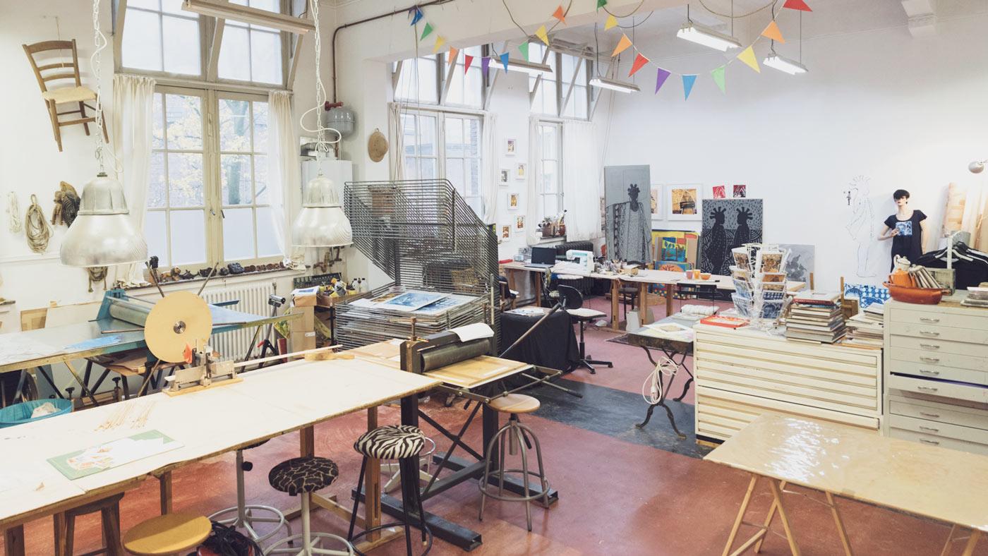 Diana van Hal Workshops Dordrecht grafiek